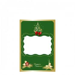 Картичка с Коледни мотиви