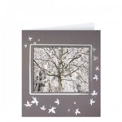 Луксозна поздравителна картичка за Коледа