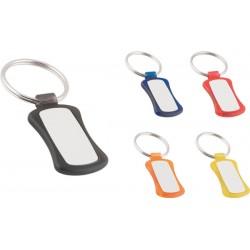 Пластмасов ключодържател с алуминиева пластина