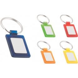Акрилен пластмасов ключодържател с алуминиева пластина