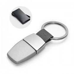 Оригинален ключодържател от кожа и метал в кутия
