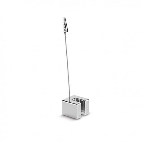 Метална щипка за бележки за бюро