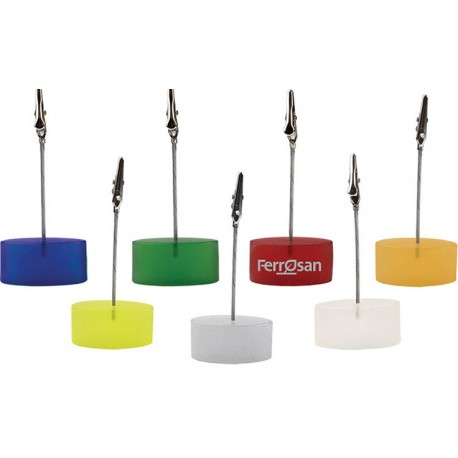 Пластмасова щипка за бележки за бюро