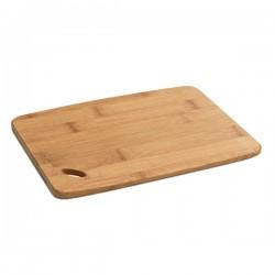 Бамбукова дъска за рязане и сервиране на сирена