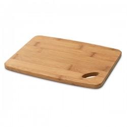 Малка бамбукова дъска за рязане и сервиране на сирена