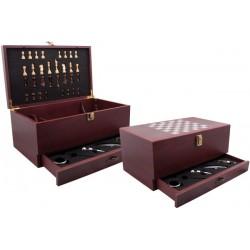 Голям комплект за вино с пет вино аксесоара и шах