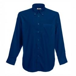 Класическа мъжка риза с дълъг ръкав и джоб Fruit of the Loom