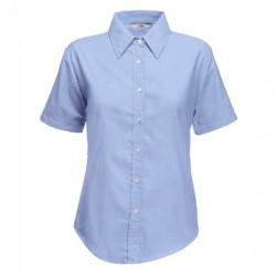 Eлегантна дамска риза с къс ръкав Fruit of the Loom