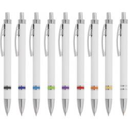 Пластмасова химикалка с метален клипс