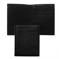 Луксозен портфейл за документи от естествена кожа Galon / Christian Lacroix