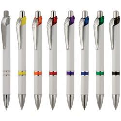 Рекламна химикалка с метален клипс за печат