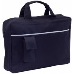 Рекламна конферентна чанта с външен джоб за телефон