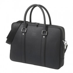 Луксозна чанта за лаптоп от естествена кожа Bridge / Cerruti 1881