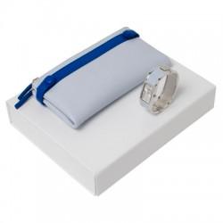 Луксозен дамски комплект портфейл и ръчен часовник Cacharel