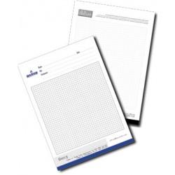 Настолен блокнот 50 листа формат А6 с печат на лого
