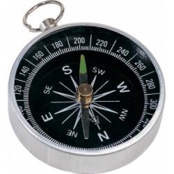 Стилен метален компас с халка