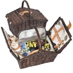 Рекламна кошница за пикник за двама