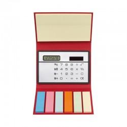 Комплект цветни лепящи листчета с калкулатор