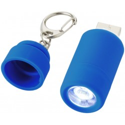 Пластмасово зареждащо се фенерче-ключодържател