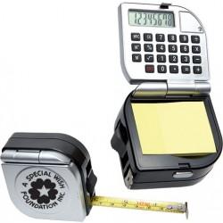 Рекламна ролетка с калкулатор и листчета за бележки