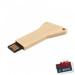 Рекламна дървена USB флаш памет