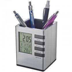 Пластмасова поставка за химиклаки с часовник