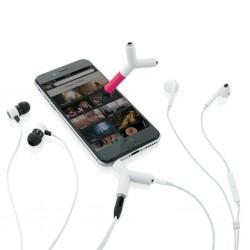 Рекламен сплитер за слушалки със стилус