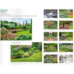 Луксозен многолистов календар Gardens 2018
