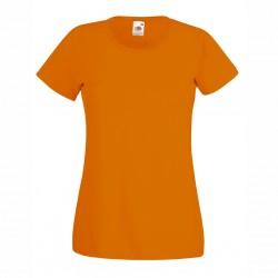 Удобна дамска тениска с обло деколте Fruit of the Loom