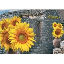 Стенен календар Цветя