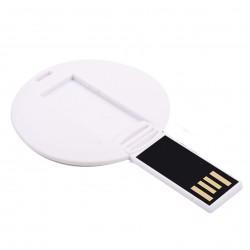 Рекламна USB памет с кръгла форма