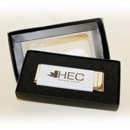 Брандирана метална запалка в кутия