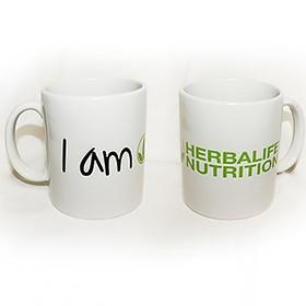 Пълноцветен печат на чаша Herblife