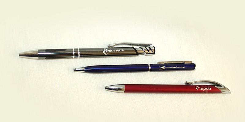 Гравиране на метални химикалки