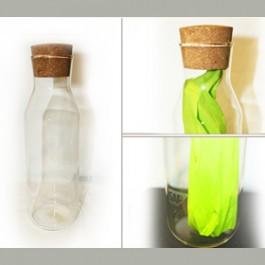 Рекламен печат на стъклени бутилки SAP