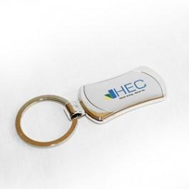Пълноцветен печат на лого HEC на ключодържатели