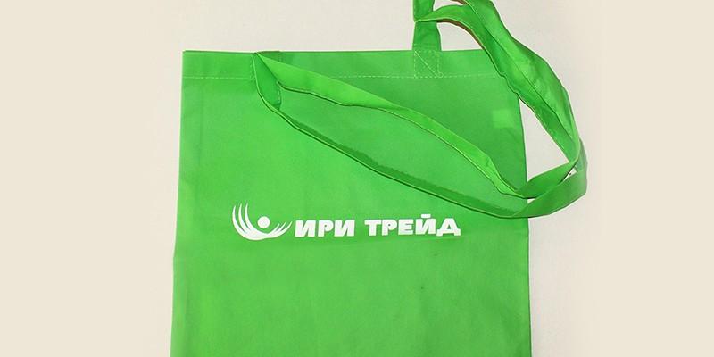 Печат 1 цвят на чанти от нетъкан текстил