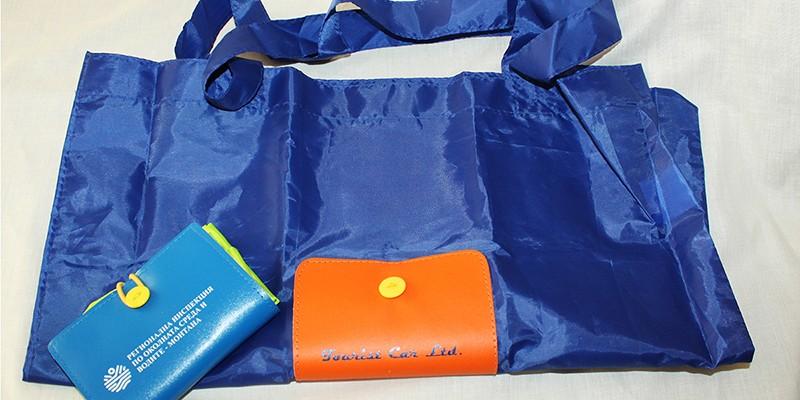 Ситопечат на сгъваеми пазарски торби