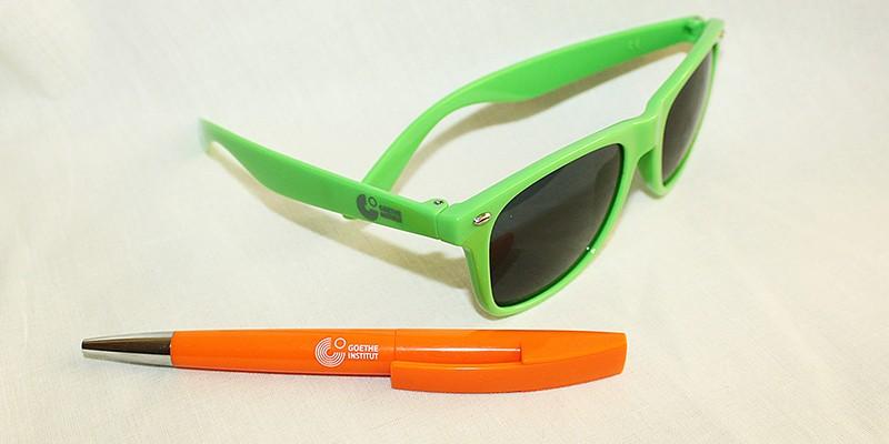 Едноцветен печат на очила