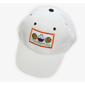 Сублимация и пришиване на шапки с лого Funday