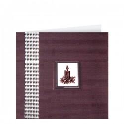 Луксозна картичка на луксозен релефен картон