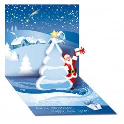 Щанцована новогодишна картичка