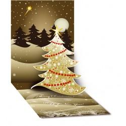 Атрактивна Коледна и Новогодишна картичка