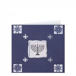 Стилна коледна картичка на луксозен картон