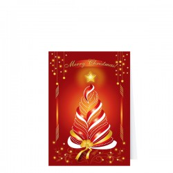 Фирмена картичка с Новогодишни мотиви