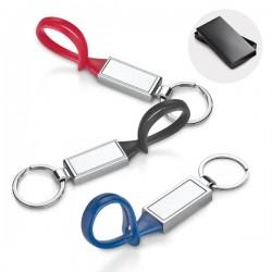 Ключодържател от метал и PVC за брандиране