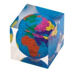 Рекламна тежест за хартия с форма на куб - F.Bartholdi