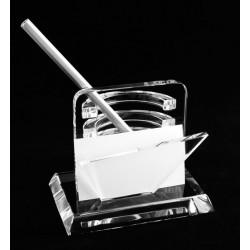 Рекламна кристална поставка за бюро