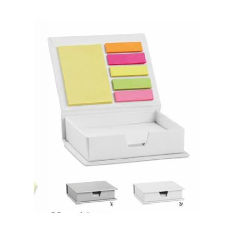 Комплект лепящи листчета в кутийка за визитки