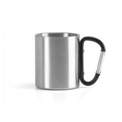Чаша от неръждаема стомана с карабинер